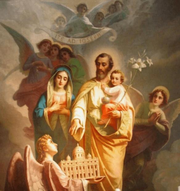 St Joseph – Patron of the Universal Church