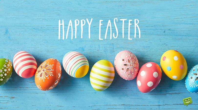 Happy Easter! …