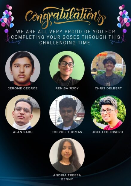 Congratulations GCSE Winners